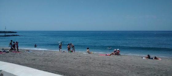 Paseo Marítimo Almería Zapillo playa beach