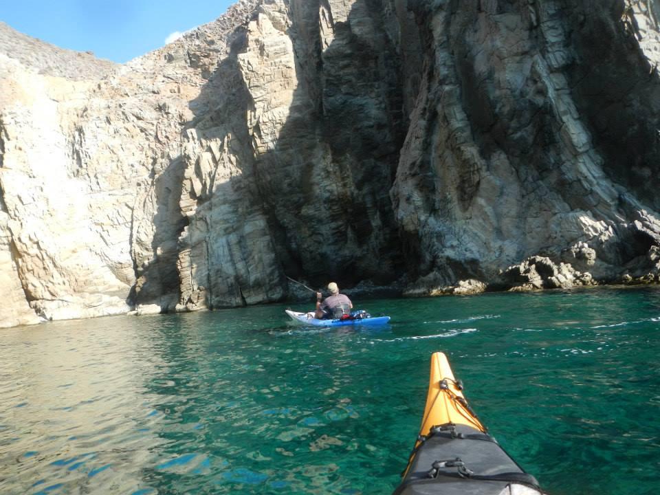 kayak en Almería Cabo de Gata scuba diving