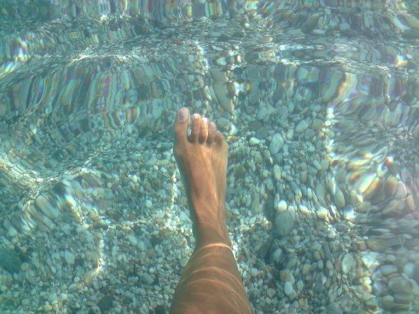 Cristal waters in Almería beaches Spain